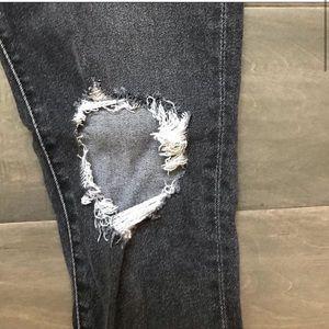 Levi's 721 skinny jeans.